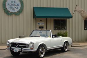 1969 280SL Touring Restoration