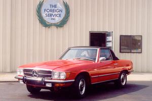 1973 450SL Concours Winning Restoration