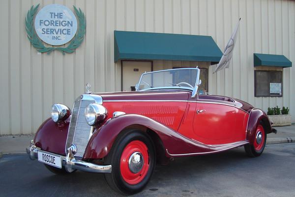 1938 170V Roadster Roscoe
