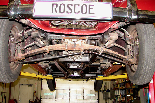 Undercarriage Front