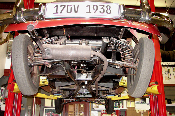 Undercarriage Rear