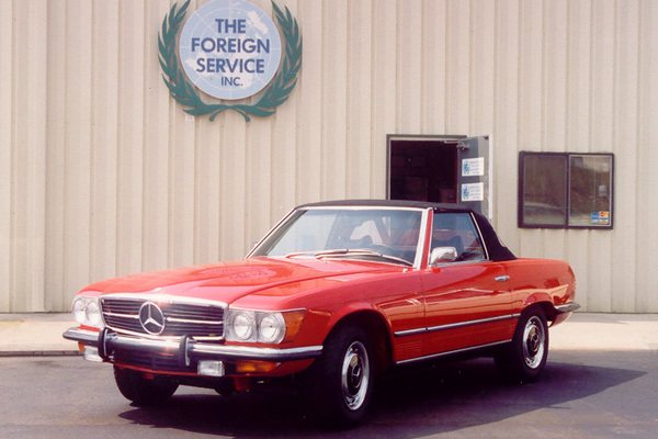 The Foreign Service | Mercedes Benz Restoration